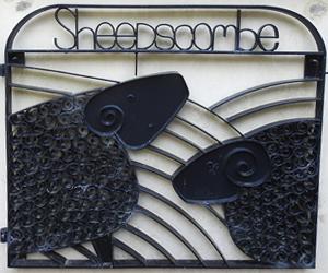Wrought iron Sheepscombe gate